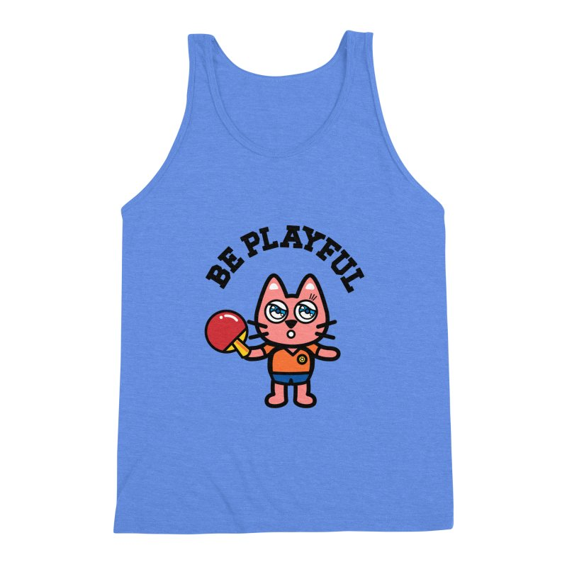 i am table-tennis player Men's Triblend Tank by beatbeatwing's Artist Shop