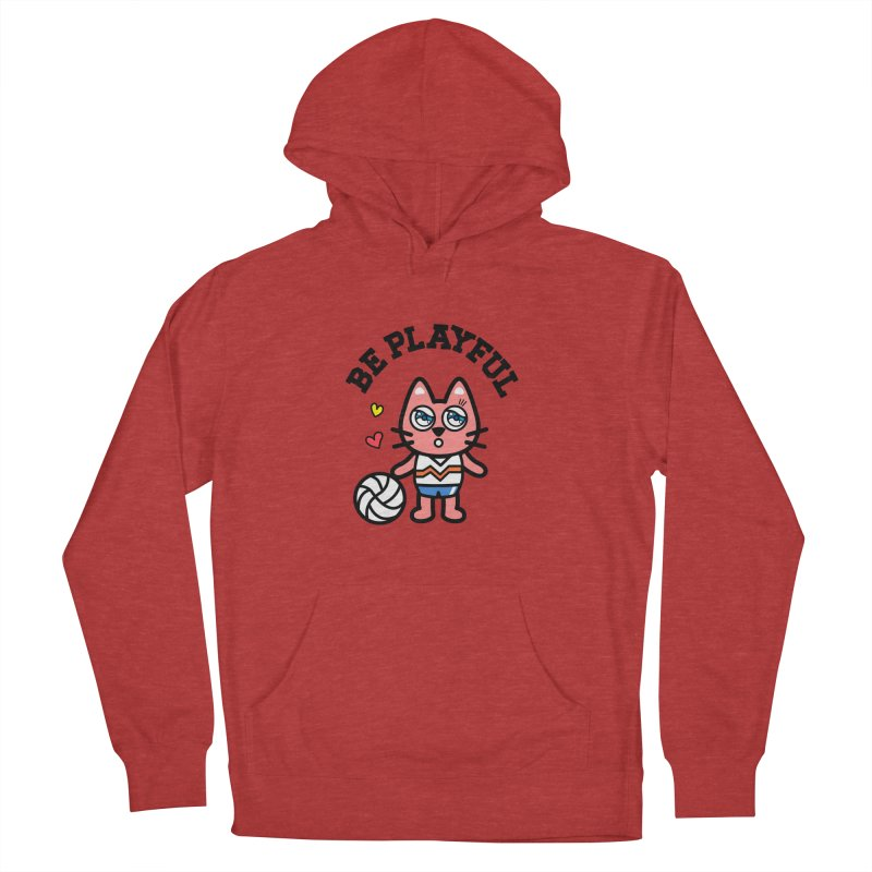 i am volleyball player Men's Pullover Hoody by beatbeatwing's Artist Shop