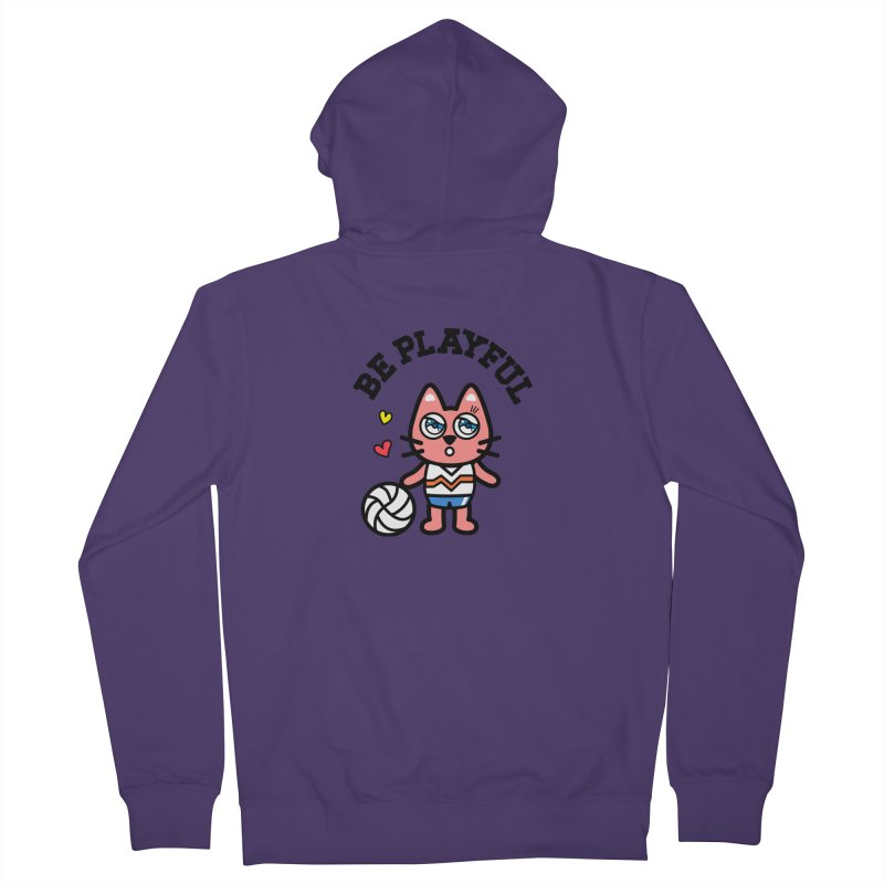i am volleyball player Women's Zip-Up Hoody by beatbeatwing's Artist Shop