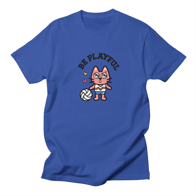 i am volleyball player Men's T-shirt by beatbeatwing's Artist Shop