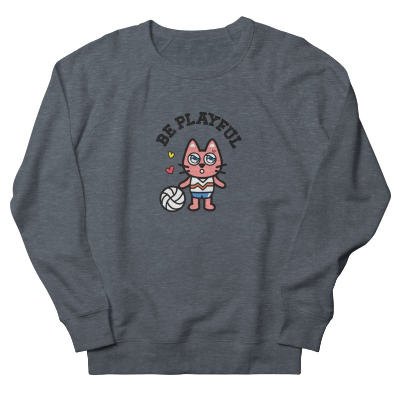 i am volleyball player Women's French Terry Sweatshirt by beatbeatwing's Artist Shop