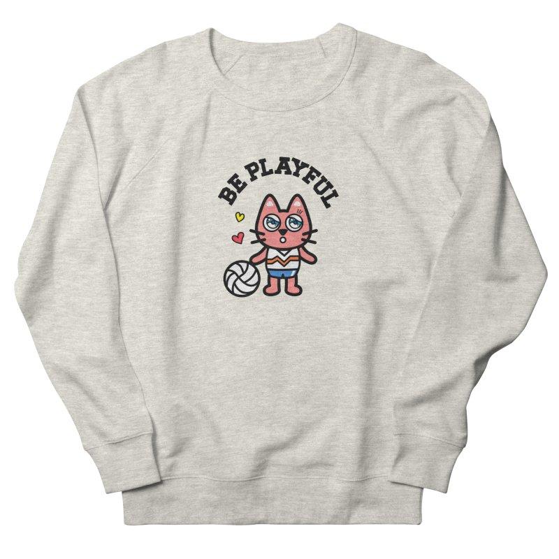 i am volleyball player Men's Sweatshirt by beatbeatwing's Artist Shop