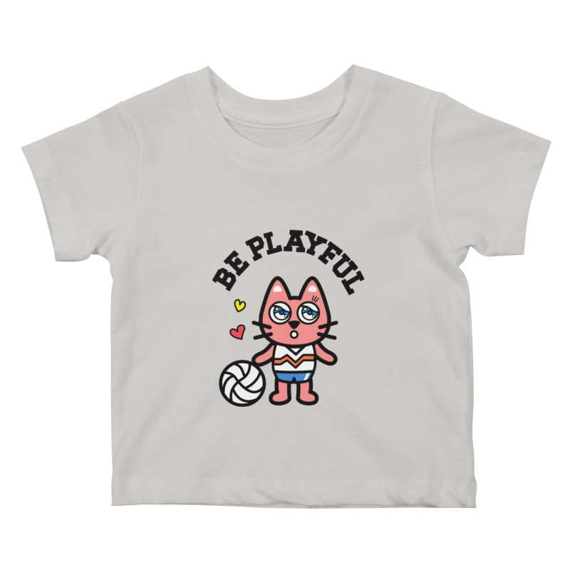 i am volleyball player Kids Baby T-Shirt by beatbeatwing's Artist Shop