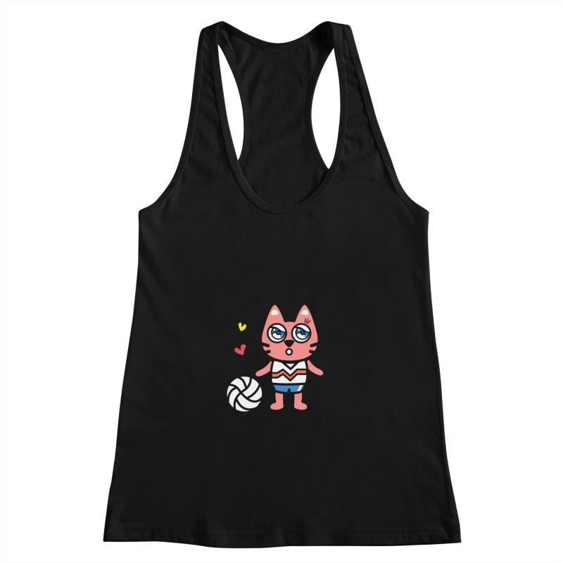 i am volleyball player Women's Tank by beatbeatwing's Artist Shop