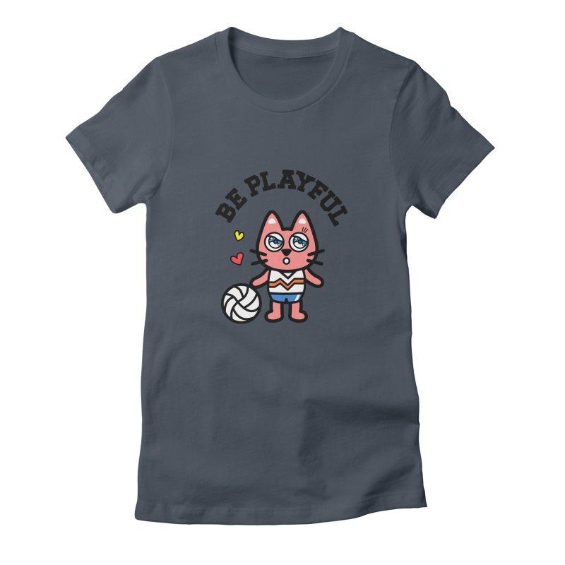 i am volleyball player Women's T-Shirt by beatbeatwing's Artist Shop