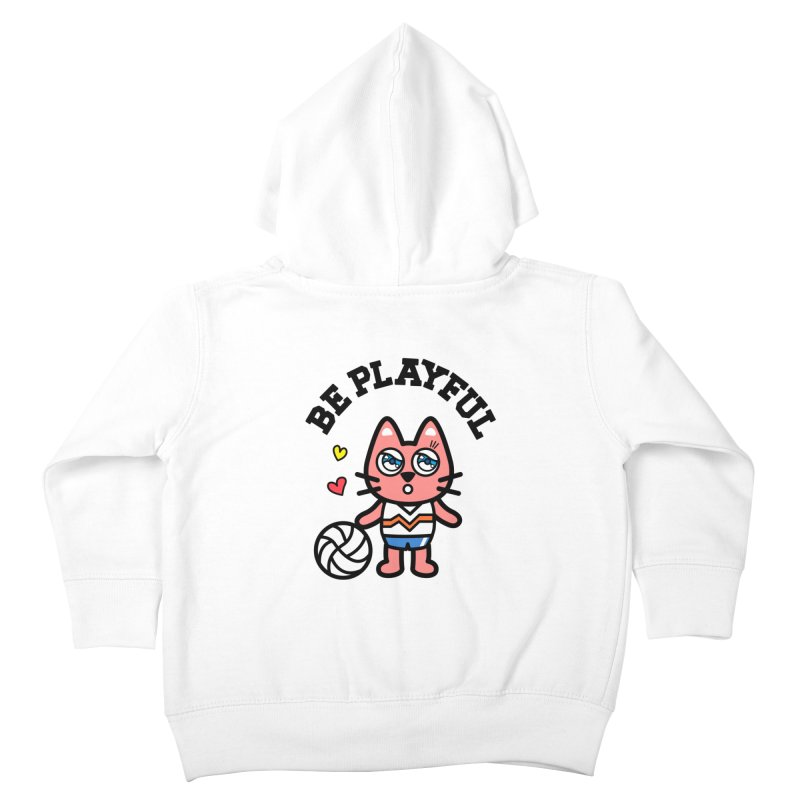 i am volleyball player Kids Toddler Zip-Up Hoody by beatbeatwing's Artist Shop