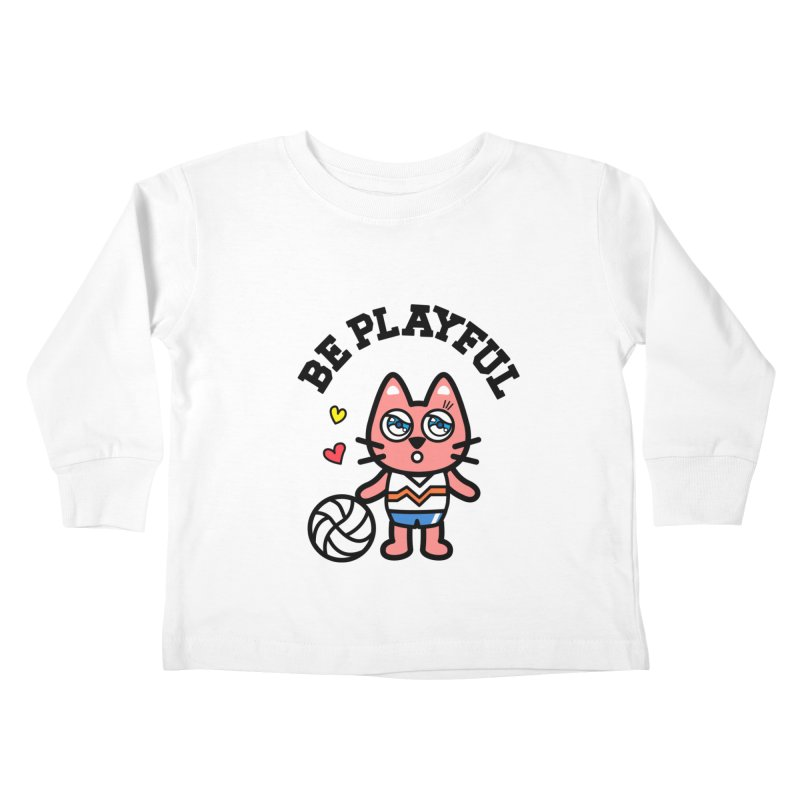 i am volleyball player Kids Toddler Longsleeve T-Shirt by beatbeatwing's Artist Shop