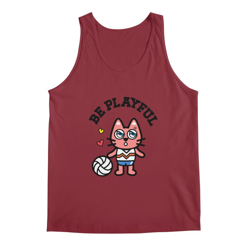 i am volleyball player Men's Regular Tank by beatbeatwing's Artist Shop