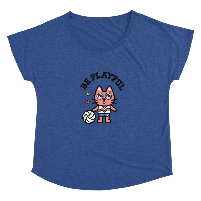 i am volleyball player Women's Scoop Neck by beatbeatwing's Artist Shop