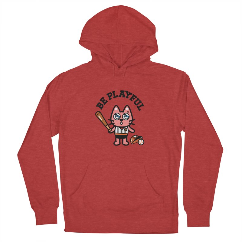 i am baseball player Men's Pullover Hoody by beatbeatwing's Artist Shop