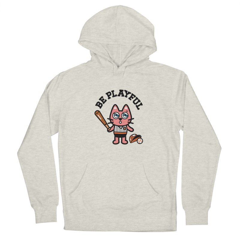 i am baseball player Men's French Terry Pullover Hoody by beatbeatwing's Artist Shop