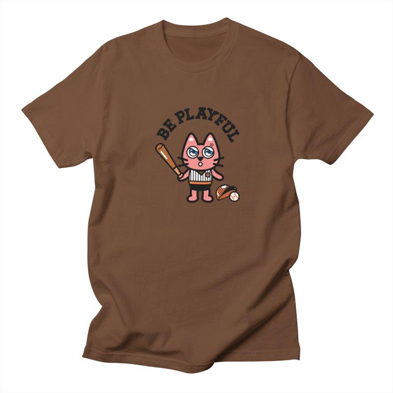 i am baseball player Men's T-shirt by beatbeatwing's Artist Shop