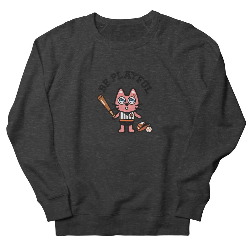 i am baseball player Men's Sweatshirt by beatbeatwing's Artist Shop