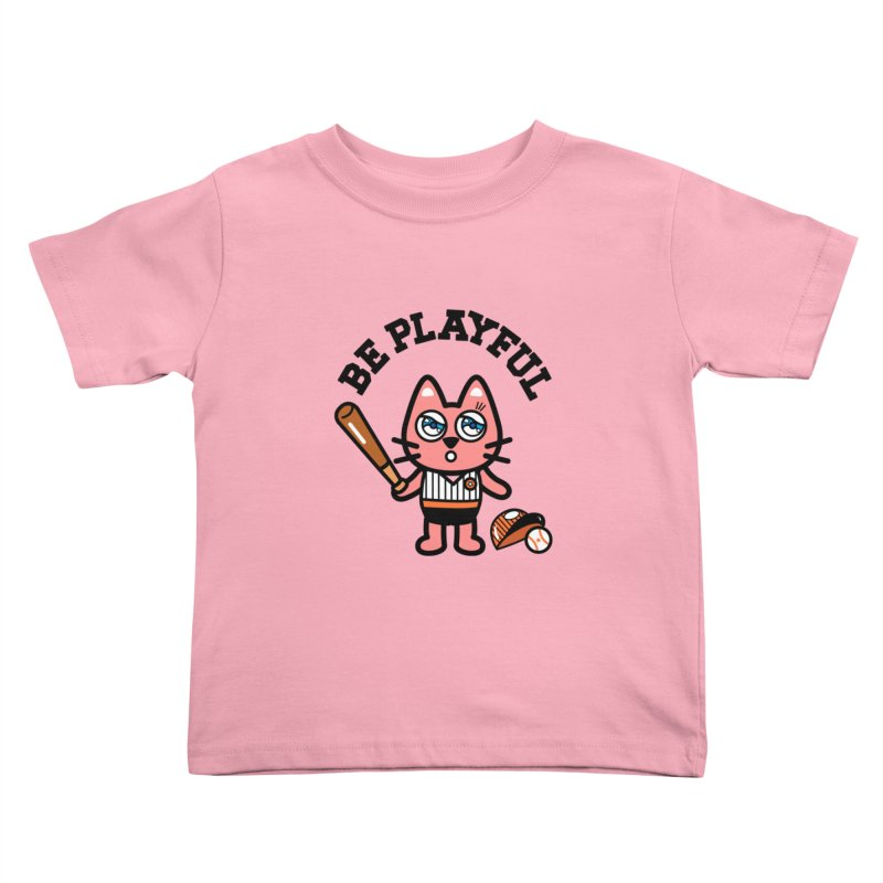 i am baseball player Kids Toddler T-Shirt by beatbeatwing's Artist Shop
