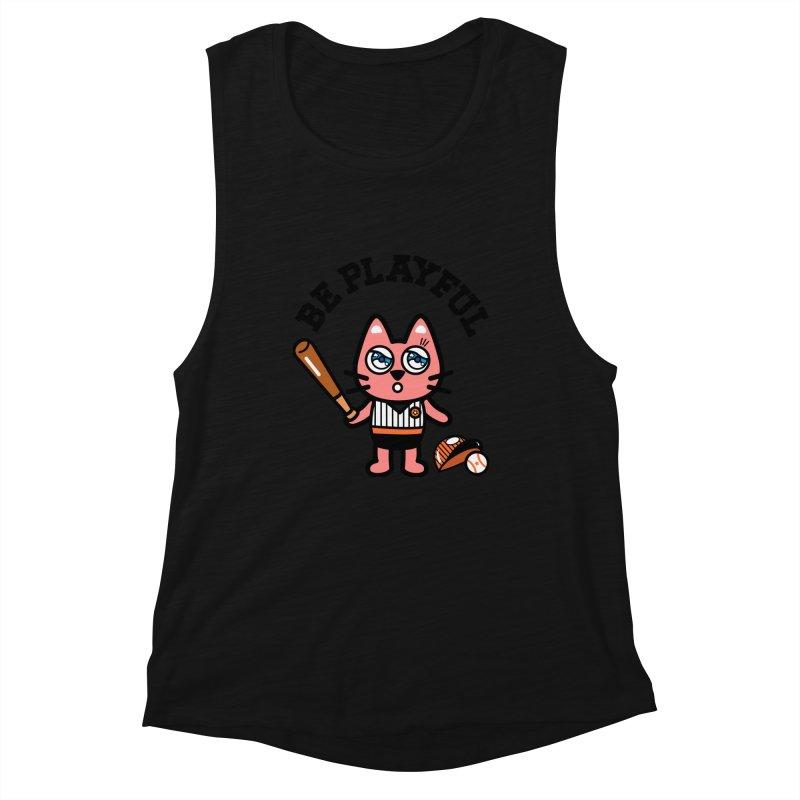 i am baseball player Women's Tank by beatbeatwing's Artist Shop