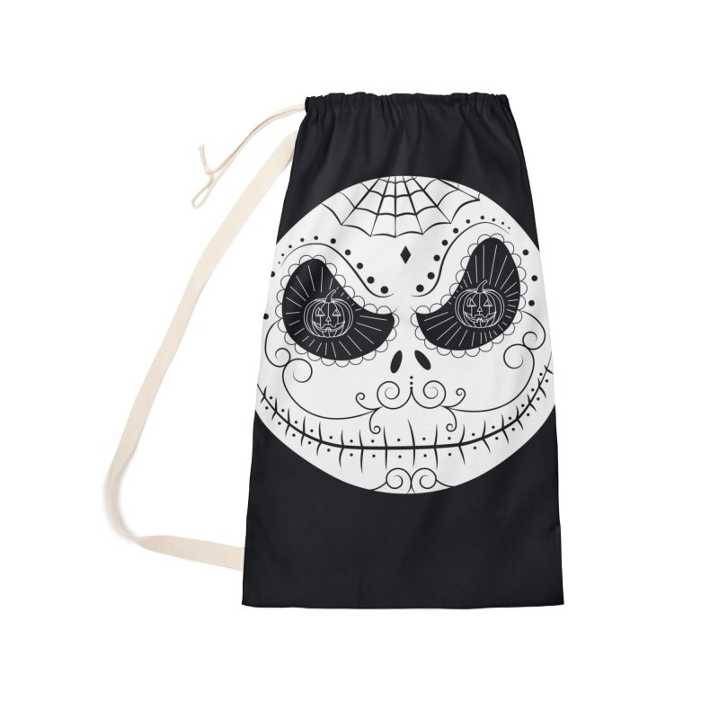 Jack Skellington's Skull Sugar (Nightmare Before Christmas - Vector Mexican Skull) Accessories Bag by Beatrizxe