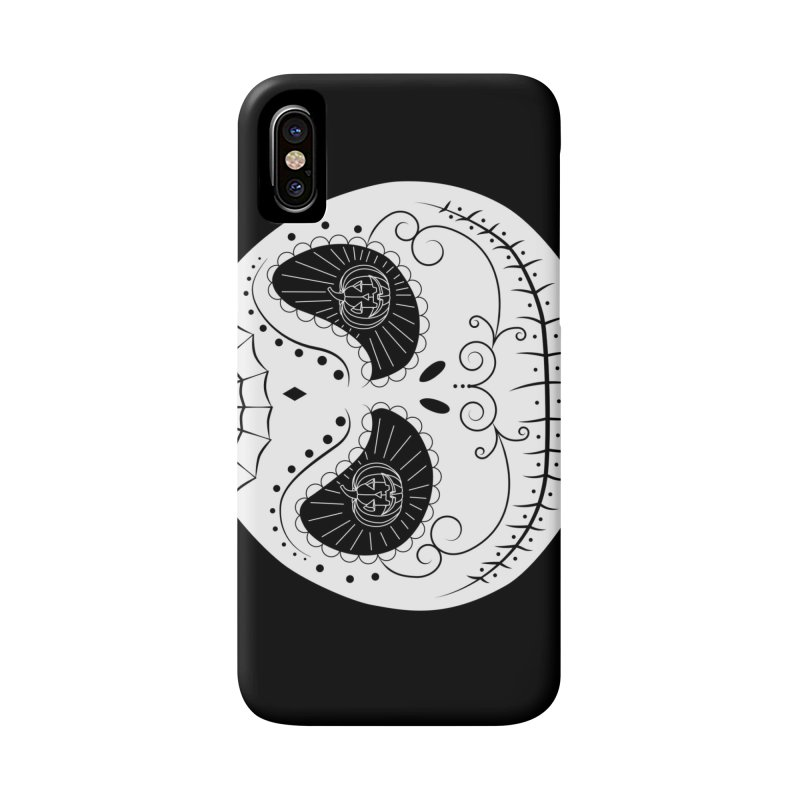Jack Skellington's Skull Sugar (Nightmare Before Christmas - Vector Mexican Skull) Accessories Phone Case by Beatrizxe