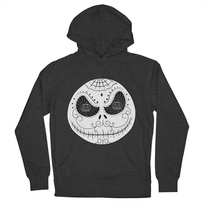 Jack Skellington's Skull Sugar (Nightmare Before Christmas - Vector Mexican Skull) Women's Pullover Hoody by Beatrizxe
