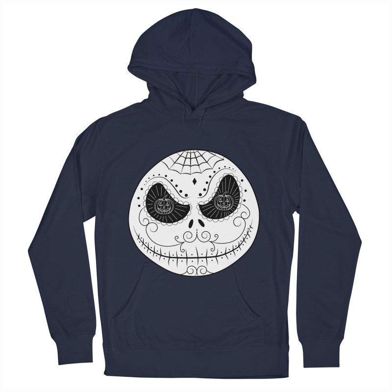 Jack Skellington's Skull Sugar (Nightmare Before Christmas - Vector Mexican Skull) Women's Pullover Hoody by Beatrizxe