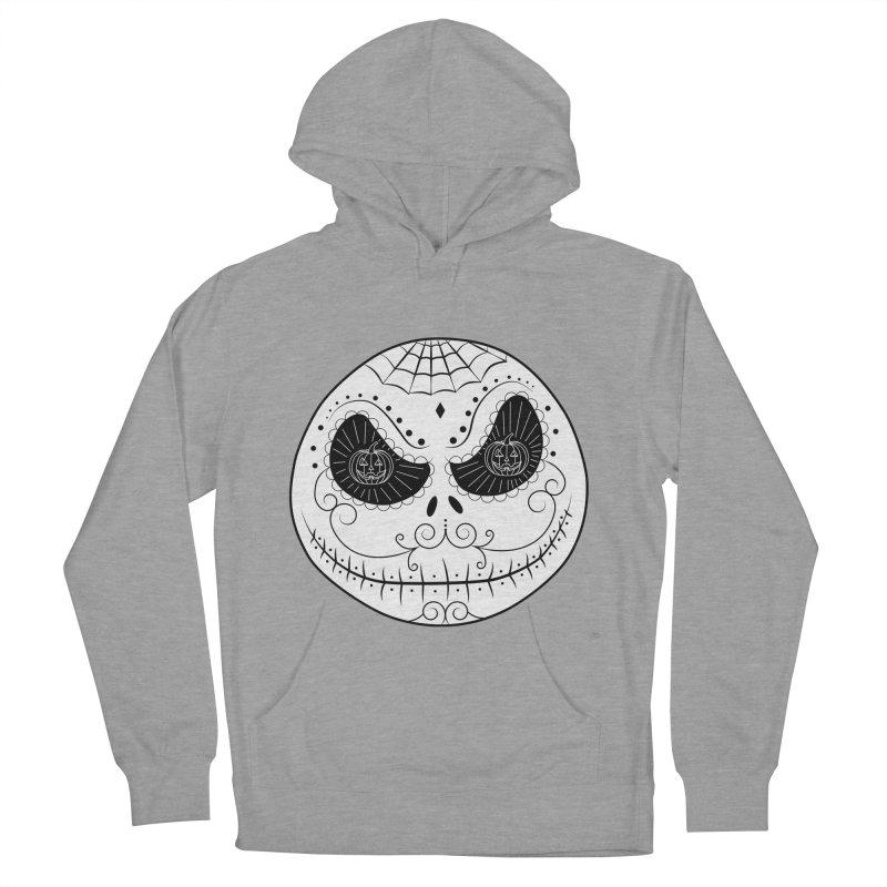 Jack Skellington's Skull Sugar (Nightmare Before Christmas - Vector Mexican Skull) Men's Pullover Hoody by Beatrizxe