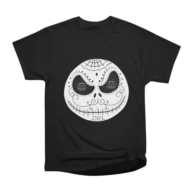 Jack Skellington's Skull Sugar (Nightmare Before Christmas - Vector Mexican Skull) Men's Classic T-Shirt by Beatrizxe
