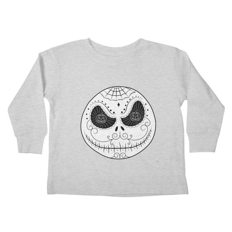 Jack Skellington's Skull Sugar (Nightmare Before Christmas - Vector Mexican Skull)   by Beatrizxe