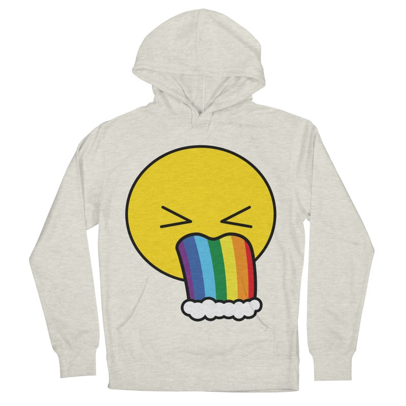 Puke Rainbow - Emoji Men's Pullover Hoody by Beatrizxe