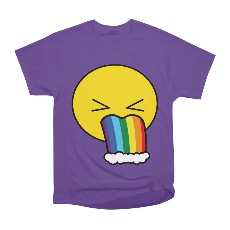 Puke Rainbow - Emoji Men's Heavyweight T-Shirt by Beatrizxe