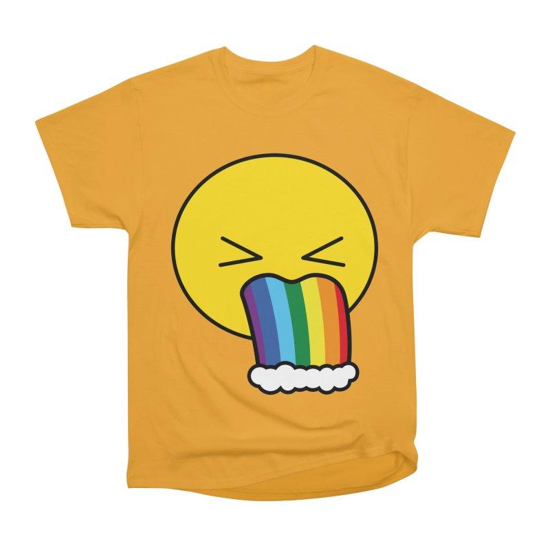Puke Rainbow - Emoji Men's Classic T-Shirt by Beatrizxe