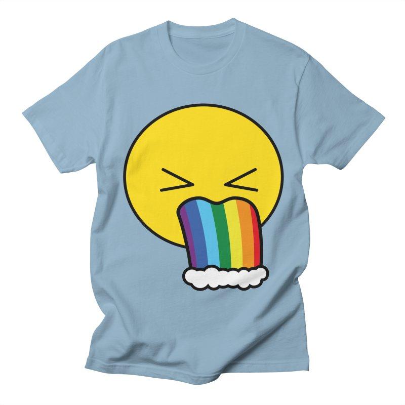 Puke Rainbow - Emoji Women's Unisex T-Shirt by Beatrizxe