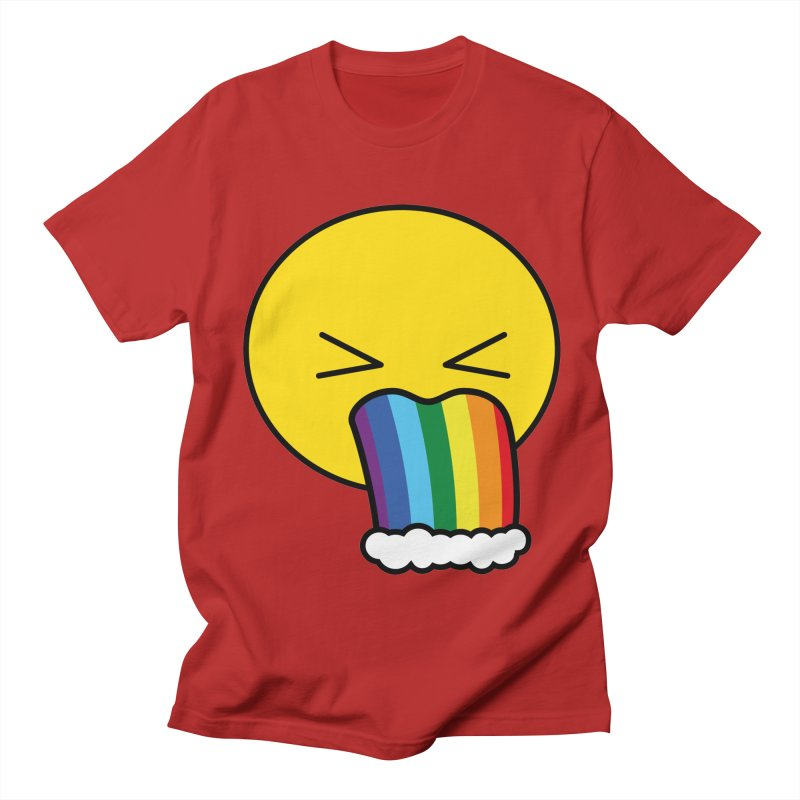 Puke Rainbow - Emoji Women's Unisex T-Shirt by Beatrizxe