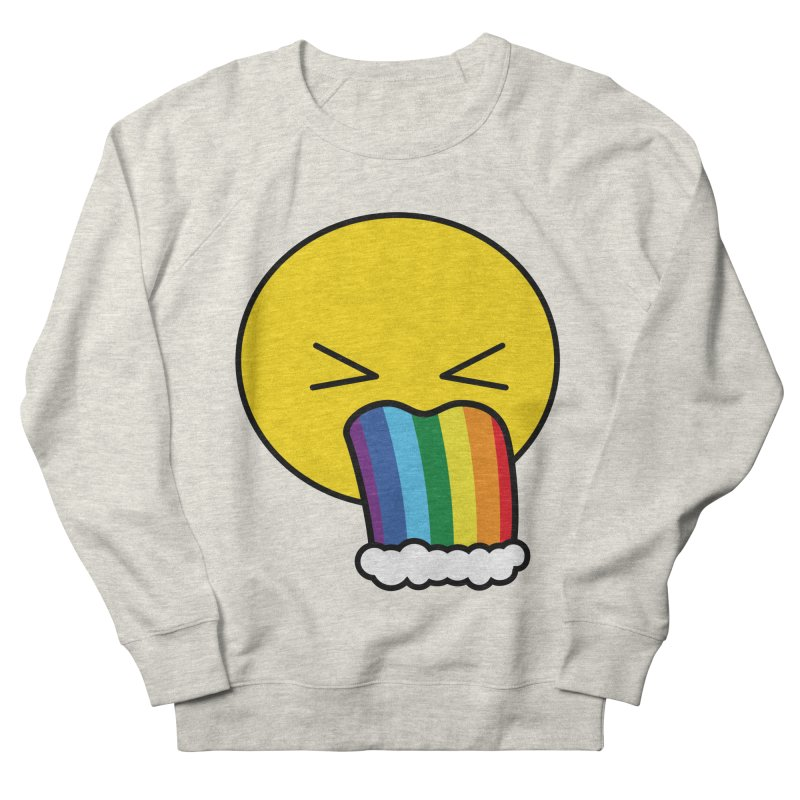 Puke Rainbow - Emoji Men's Sweatshirt by Beatrizxe