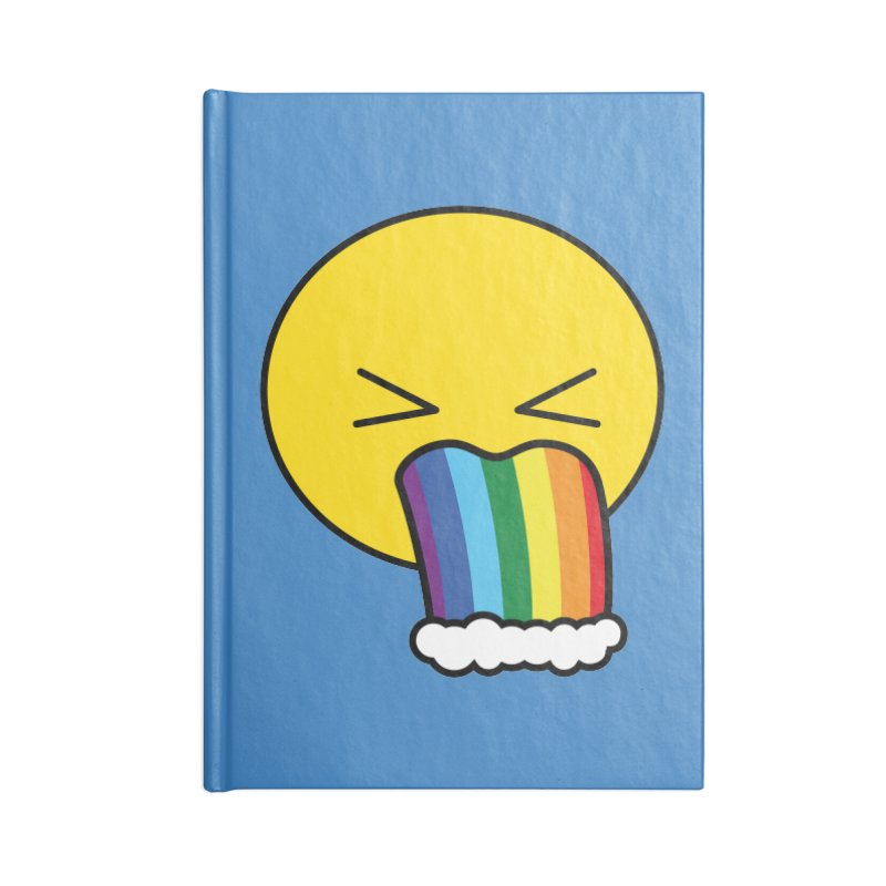 Puke Rainbow - Emoji Accessories Notebook by Beatrizxe