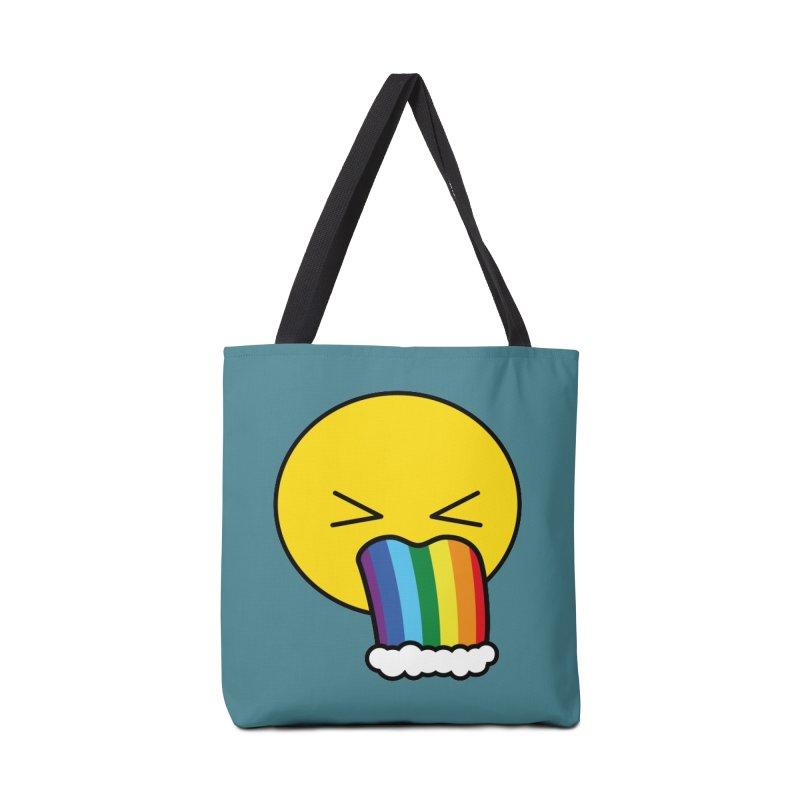 Puke Rainbow - Emoji Accessories Bag by Beatrizxe