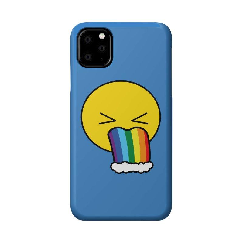 Puke Rainbow - Emoji Accessories Phone Case by Beatrizxe