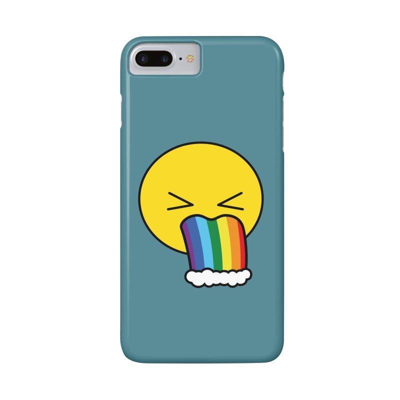 Puke Rainbow - Emoji Accessories Phone Case by Beatrizxe