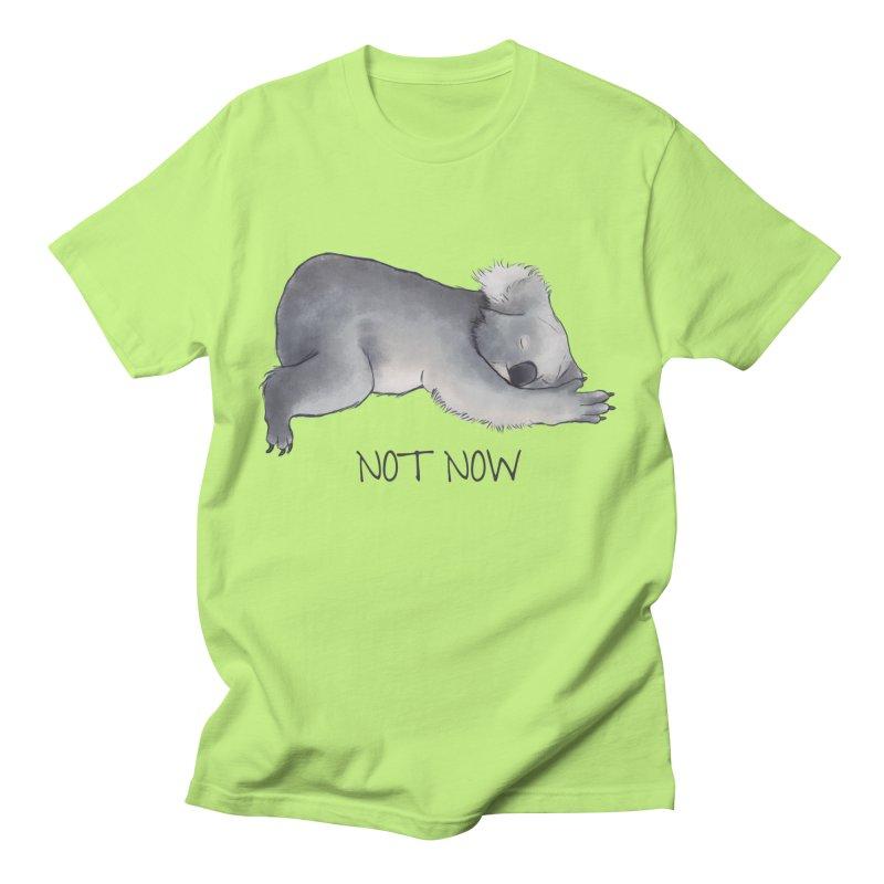 Koala Sketch - Not Now - Lazy animal Men's T-Shirt by Beatrizxe