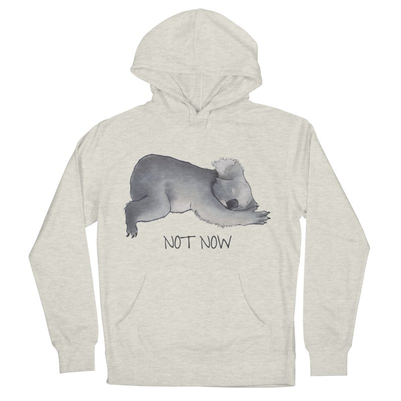 Koala Sketch - Not Now - Lazy animal Men's Pullover Hoody by Beatrizxe