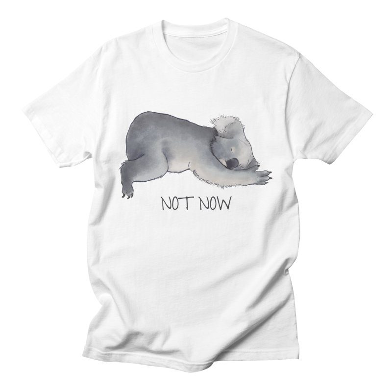 Koala Sketch - Not Now - Lazy animal Men's T-Shirt by Beatrizxe