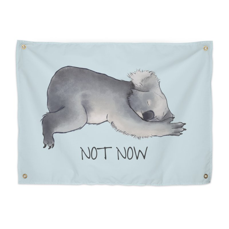 Koala Sketch - Not Now - Lazy animal Home Tapestry by Beatrizxe