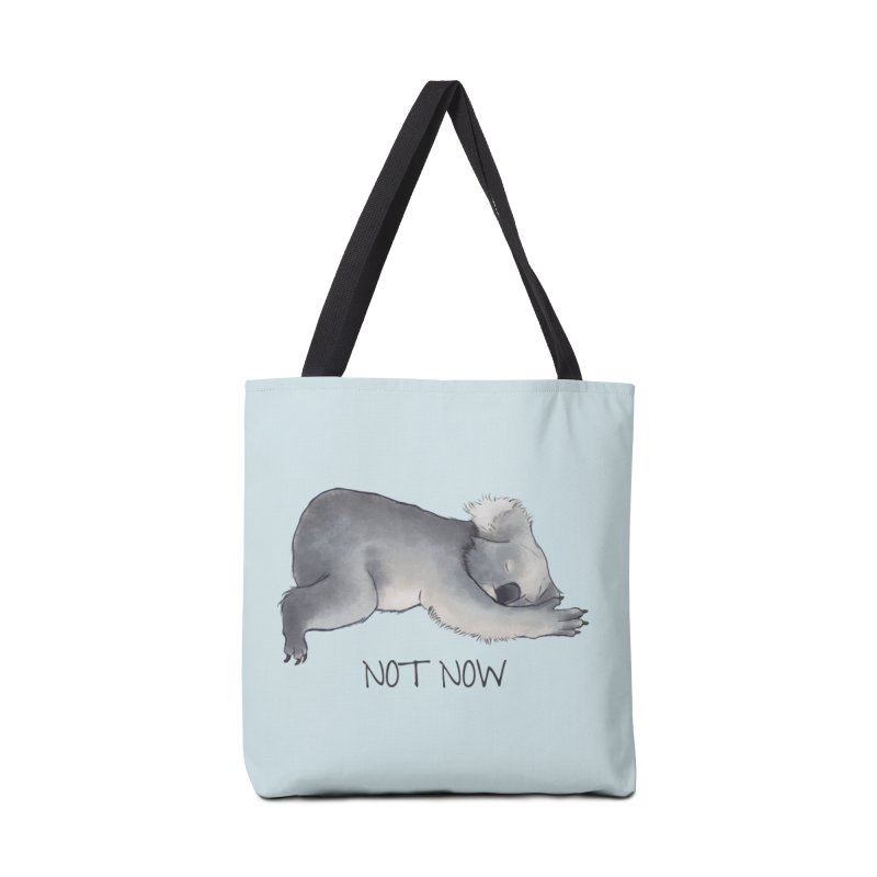 Koala Sketch - Not Now - Lazy animal Accessories Bag by Beatrizxe