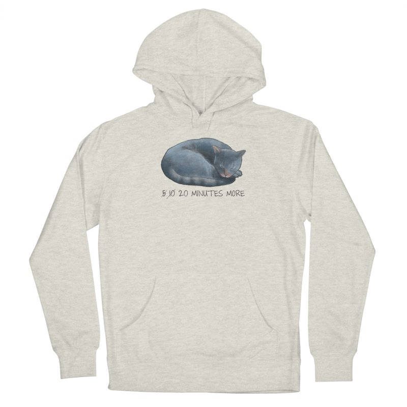 Sleepy Cat - 20 minutes more - Lazy Animals Men's Pullover Hoody by Beatrizxe