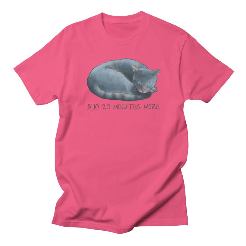 Sleepy Cat - 20 minutes more - Lazy Animals Women's Unisex T-Shirt by Beatrizxe