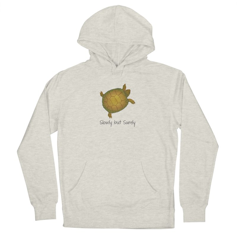 Turtle - Slowly but Surely - Lazy Animals Men's Pullover Hoody by Beatrizxe