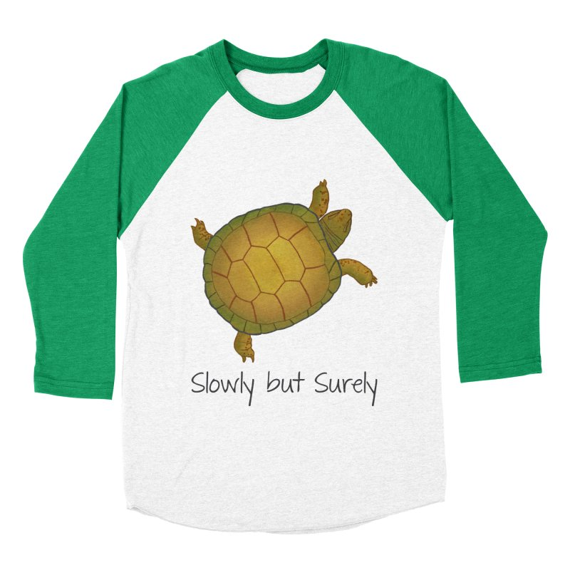 Turtle - Slowly but Surely - Lazy Animals Men's Longsleeve T-Shirt by Beatrizxe
