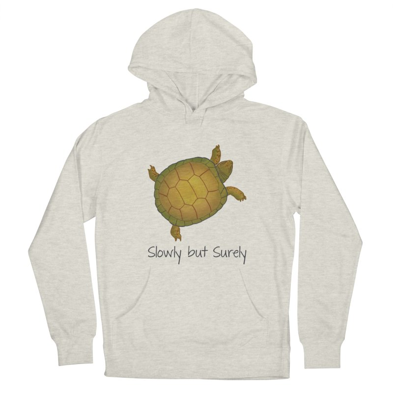 Turtle - Slowly but Surely - Lazy Animals Women's Pullover Hoody by Beatrizxe