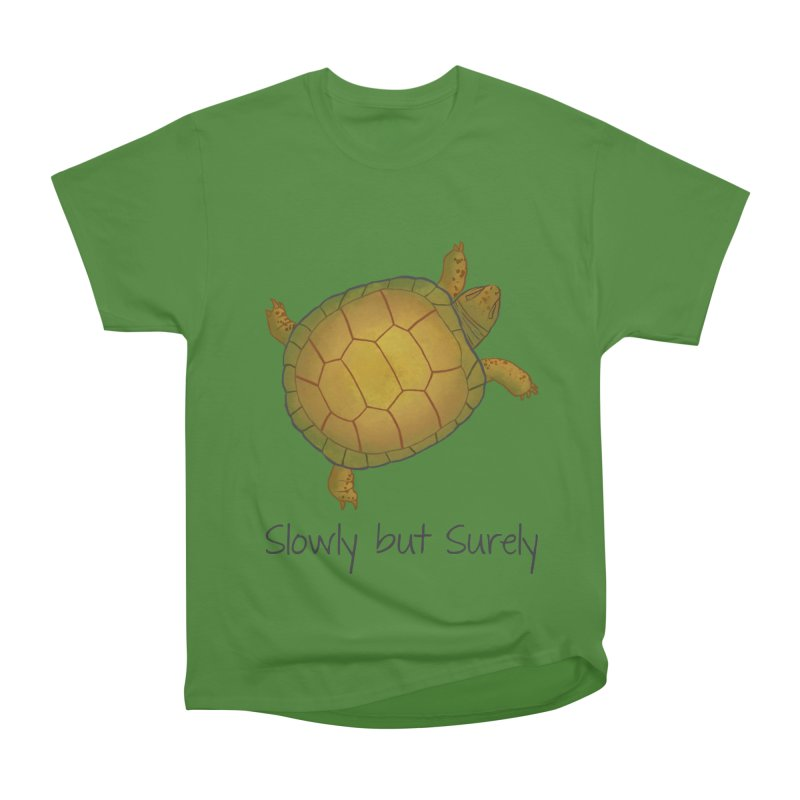 Turtle - Slowly but Surely - Lazy Animals Men's Classic T-Shirt by Beatrizxe