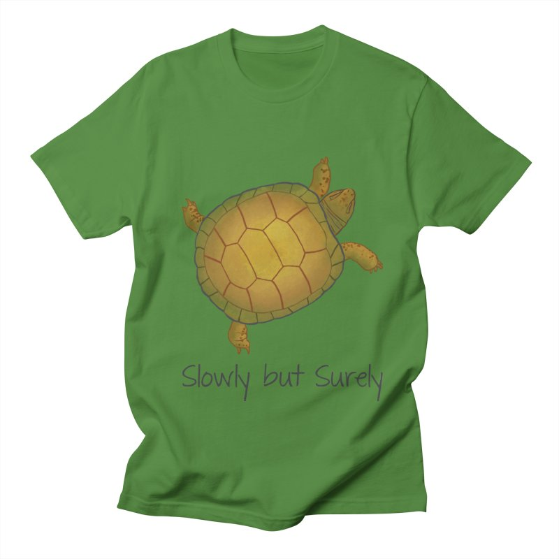 Turtle - Slowly but Surely - Lazy Animals Women's Unisex T-Shirt by Beatrizxe