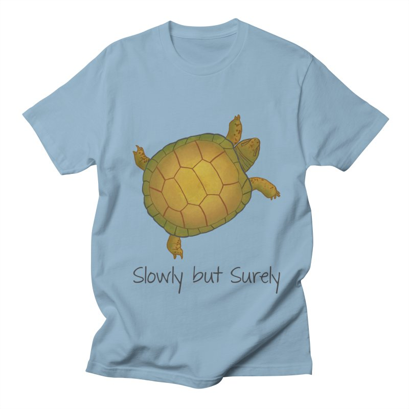 Turtle - Slowly but Surely - Lazy Animals Women's Regular Unisex T-Shirt by Beatrizxe