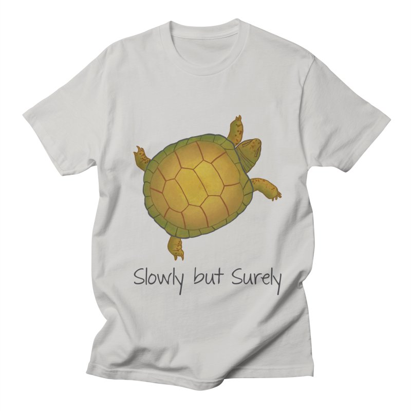 Turtle - Slowly but Surely - Lazy Animals Men's Regular T-Shirt by Beatrizxe